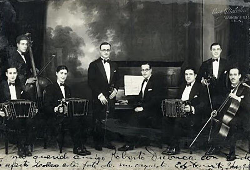 Orquesta Edgardo Donato. Argentine Tango music.