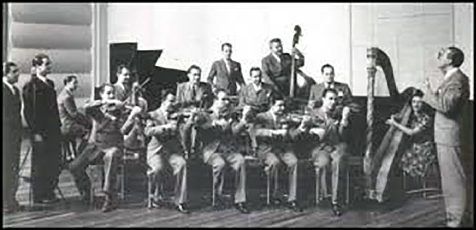 Osvaldo Fresedo y su Orquesta Típica. Argentine Tango music.