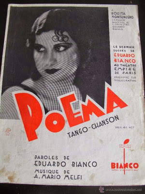 """""""Poema"""". Argentine music at Escuela de tango de Buenos Aires."""
