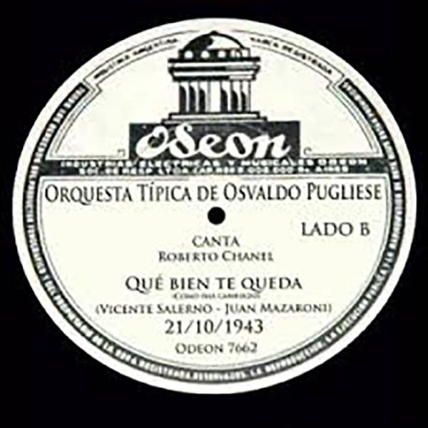 """Vinil record of """"Qué bien te queda (Cómo has cambiado)"""""""