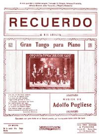 Recuerdo. Argentine music at Escuela de Tango de Buenos Aires