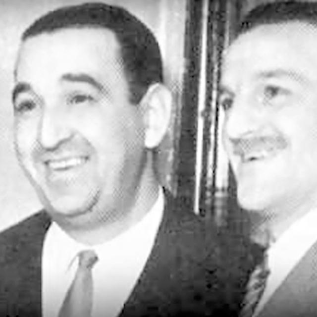Ricardo Tanturi and Enrique Campos, Argentine Tango orchestra leader and his singer.