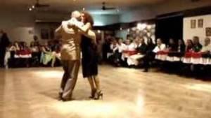 Enriqueta Kleinman & Ruben Harymbat. Maestros milongueros. Escuela de Tango de Buenos Aires.