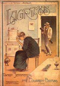 """Lagrimas"" of Eduardo Arolas. Marcelo Solis History of Tango. Escuela de Tango de Buenos Aires."