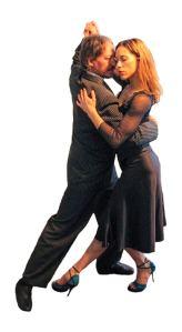 Marcelo Solis dancing with Sofía Pellicciaro Argentine Tango