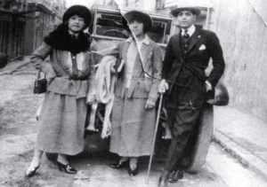 Eduardo Arolas in Europe 1923. History of Tango. Marcelo Solis. Escuela de tango de Buenos Aires.