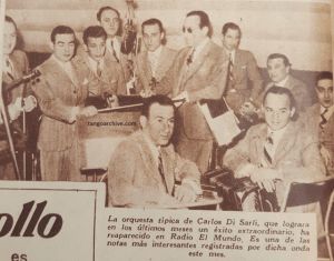 Carlos Di Sarli y su Orquesta Típica with Roberto Rufino. Escuela de Tango de Buenos Aires. Music