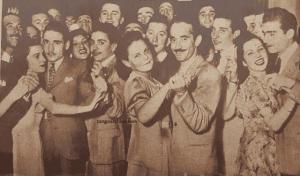 José García. Argentine music at Escuela de Tango de Buenos Aires. Collection Marcelo Solis.
