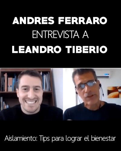 Andres Ferraro entrevista a Leandro Tiberio