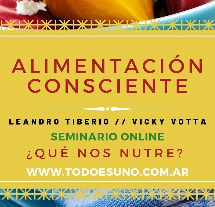 ALIMENTACIÓN CONSCIENTE 30/5 Y 6/6