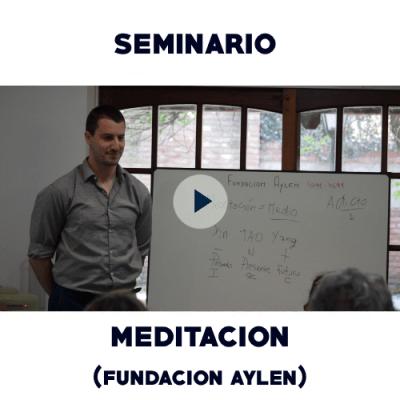 Meditación - Fundación Aylén - Gnosis