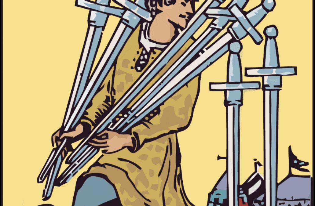 INFORME SEMANAL DE TAROT – 26/7: 7 de espadas.
