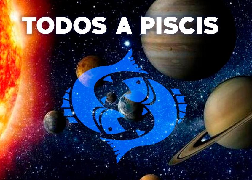 Mapa Astrológico: ¡Todos a Piscis!