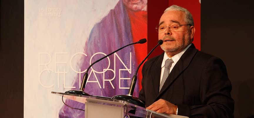 Gonzalo Jiménez, secretario general de la Fundación Edades del Hombre, presenta la exposición que tendrá sede en Cuéllar.