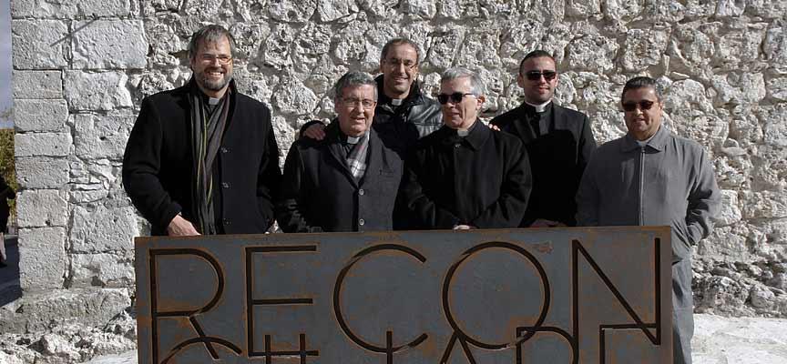 Representantes del Obispado y la diócesis de Segovia.