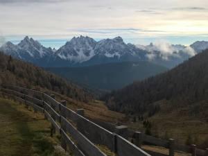 Dal Bergalmhutte (2085m) le Dolomiti di Sesto