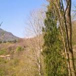 Gena Alta (800m) visto dalla Valle Soffia