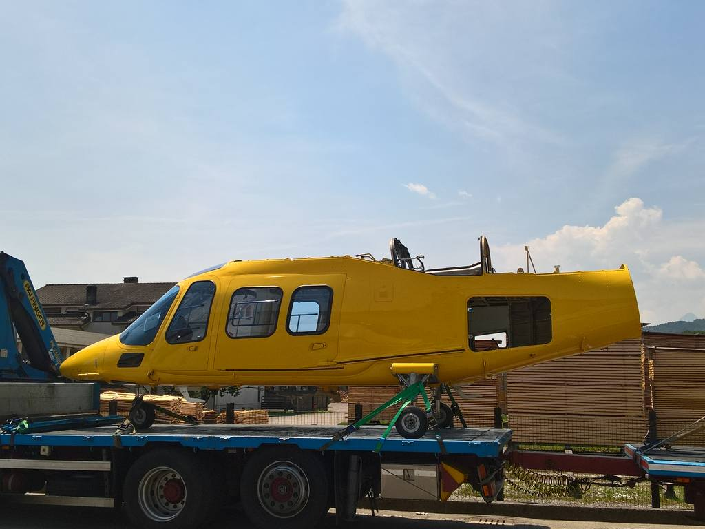 Agusta A-109 a Belluno