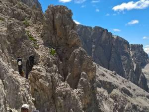 Partenza della Strada degli Alpini