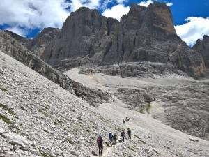Discesa dalla Strada Degli Alpini