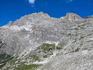 Gruppo della Cima Undici dove passa la Strada degli Alpini