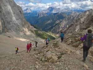 Discesa in Val Ombreta Alta
