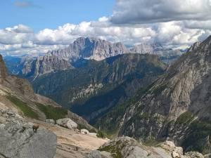 In fondo il Monte Civetta