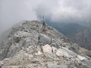 Campana di vetta del Monte Peralba