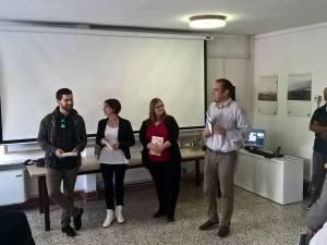Nicola De Toffol, Paola Zambelli, Anna Maria Canepa di Tramediastoria, Frezza Francesco Antonio presidente Aero Club Belluno