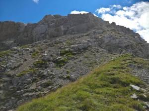 Versante settentrionale della Talvena