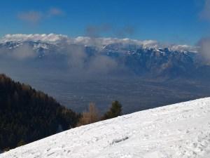 Panorama verso la Valbelluna