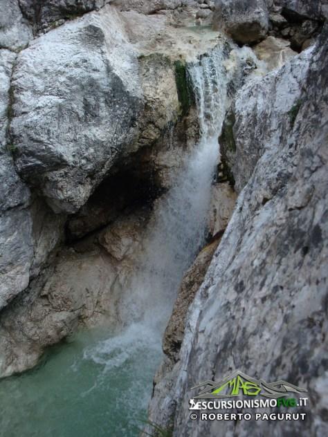 Rio Serrai cascate