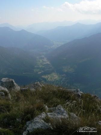 vista sulla valle del But