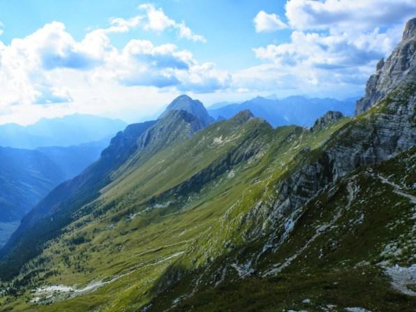 Skyline dell'altipiano del Montasio