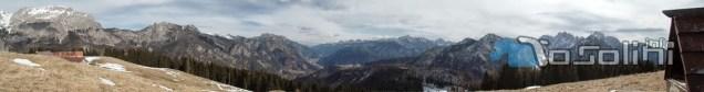 Panorama da Monte Glazzat ( foto di Walter Tosolini)