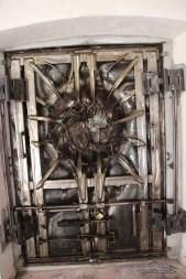 Porta del sole (Palcoda) vista dall'interno.