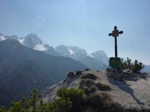 Monte Nebria, cima di vetta.