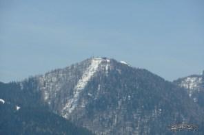 Monte Lussari visto dal Nebria.