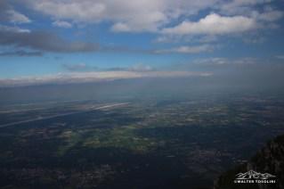 Vista sulla pianura friulana