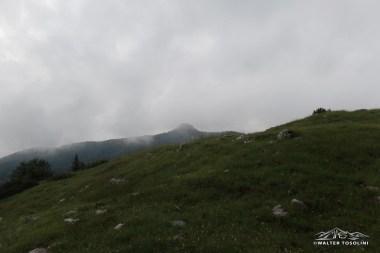 Il Monte Ciastelat visto dal Pala Fontana