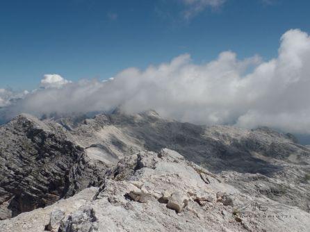 Visuale dalla cima verso Est
