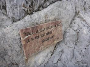 Ricordo dell'escursione di Papa Paolo II