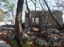 Vecchia costruzione vicino al Brancot