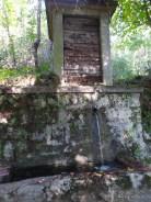 Fontana vicino Braulins