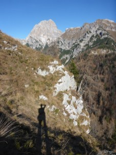 vista verso la parte alta della valle