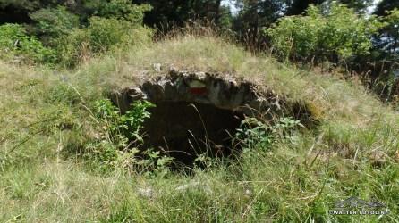 Vecchi bunker in rovina