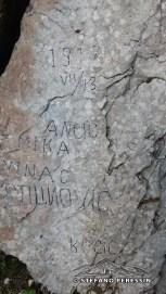 Iscrizioni nella roccia