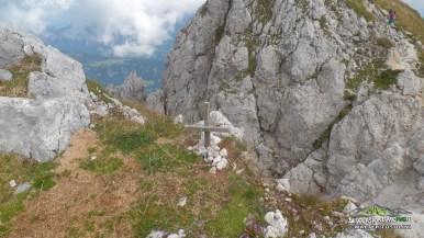 Gartnerkofel parte roccia