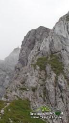 Gartnerkofel parte in roccia
