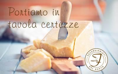 Portiamo in tavola solo certezze: Parmigiano Reggiano DOP